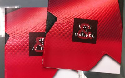 CREATION CATALOGUE ART ET MATIERE