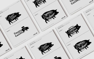 CREATION LOGOTYPE – Copains comme cochons