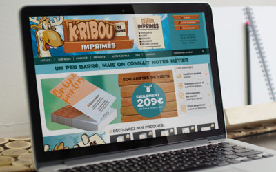CREATION SITE INTERNET – K-RIBOU